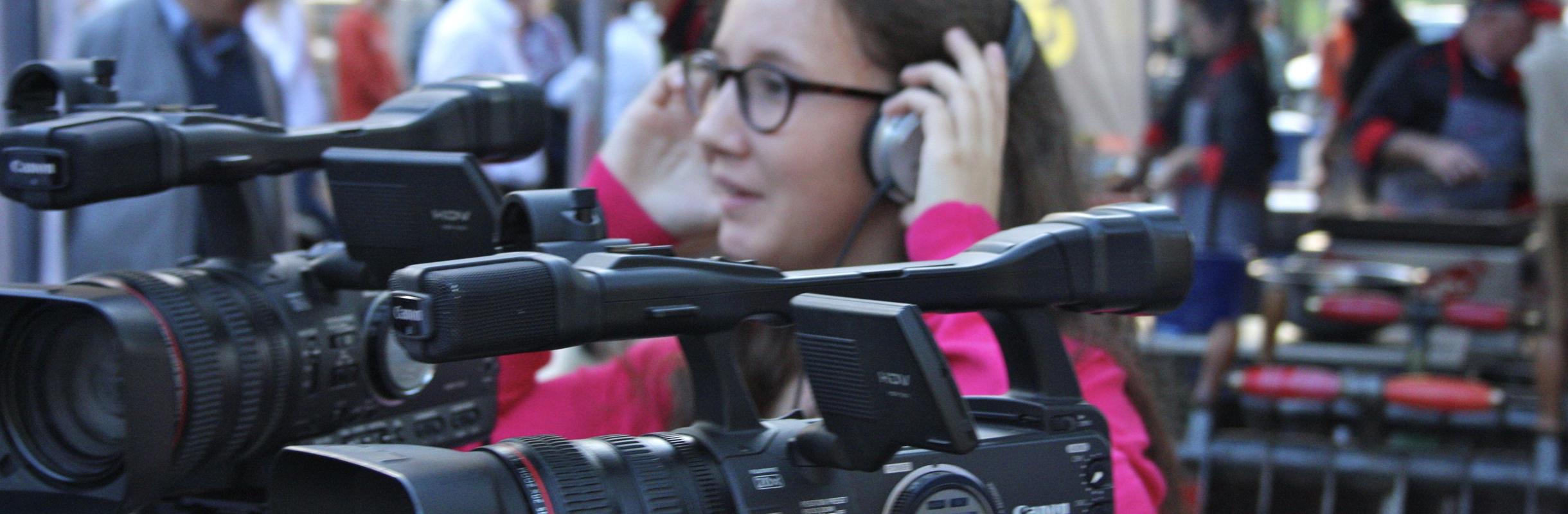 Peopletalk-Projekt Reinach «Littering isch Mischt» Drehset
