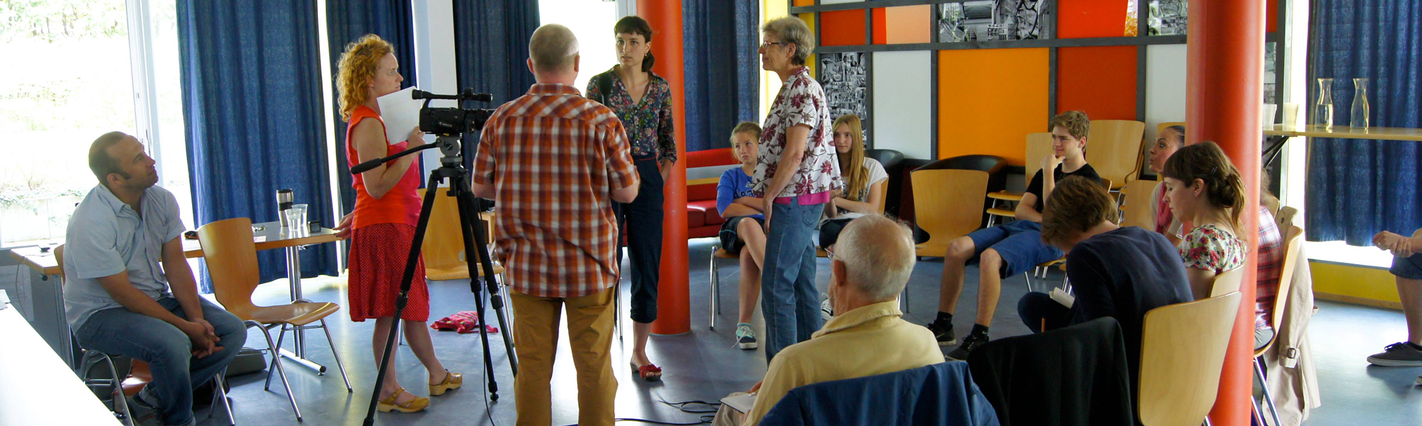 PEOPLETALK-ABZ Workshop Videoreporter